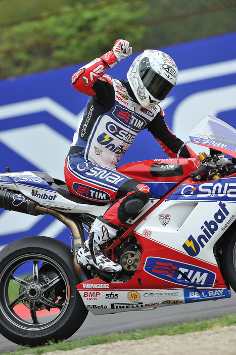 RACING TEAM SET FOR CARLOS CHECA'S HOME SBK RACES AT MOTORLAND ARAGON | Ductalk Ducati News | Scoop.it