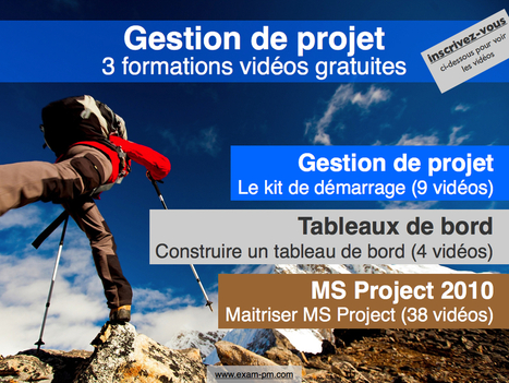 3 formations vidéos gratuites pour chef de projet | Planète Projets : Gestion de projet - Travail collaboratif - Conduite du changement | Scoop.it