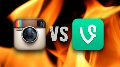 Facebook's Instagram and Twitter's Vine Go Head-to-Head | Gotcha! Mobile Solutions | Scoop.it