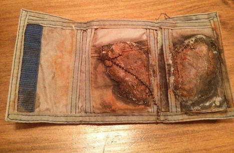 Il retrouve son portefeuille perdu vingt-quatre ans auparavant à la plage | Docs utiles pour la classe | Scoop.it
