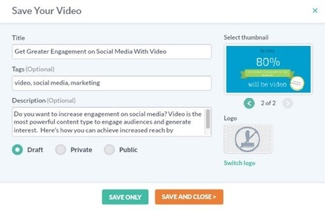 6 Video Tools to Ignite Your Social Marketing : Social Media Examiner | Social Media Latest Trends | Scoop.it