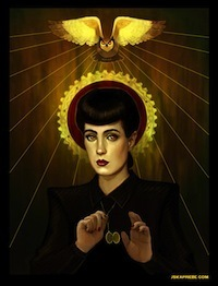 Famous Science Fiction Heroines Reimagined as Saints - Flavorwire | TV Series and Movies | Scoop.it