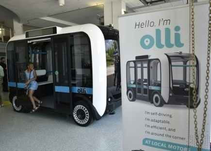 Olli, a 3D printed, self-driving minibus, to hit the road in US | Jeff Morris | Scoop.it