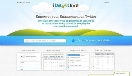 iTweetlive, analyse les tweets sur Twitter ! | Entrepreneurs du Web | Scoop.it