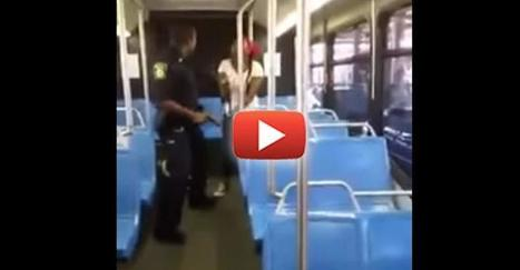 "VIDEO: Citizens Order Cop To ""Drop the Gun"" When He Pulled it on Unarmed Woman — It Worked 