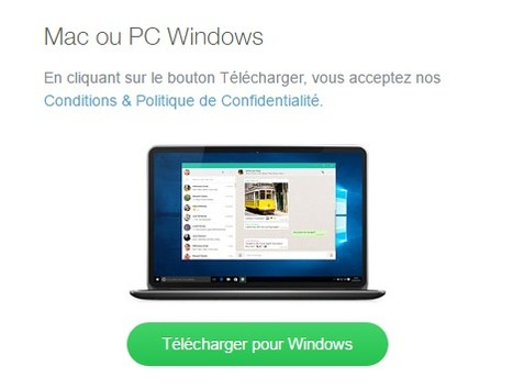 WhatsApp lance une application pour ordinateur | Actualités (N)TIC | netnavig | Scoop.it