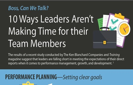 10 Ways Leaders Aren't Making Time for their Team Members | Management - Leadership | Scoop.it