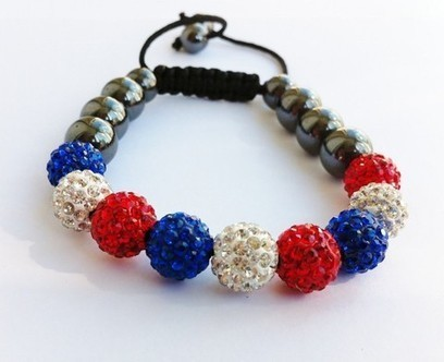 Full Olympics Edition Crystal Shamballa Bracelet | Cheap charms and jewelrys | Scoop.it