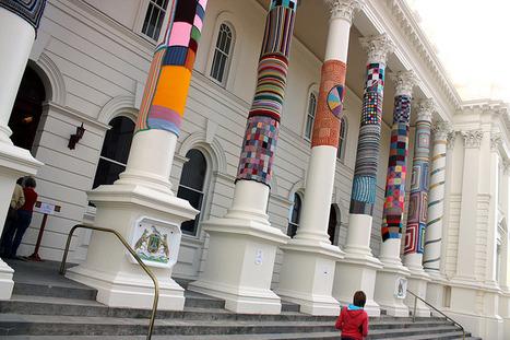 Yarn bombing | Urban Art | Scoop.it