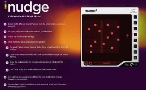 iNudge, crea melodías musicales y compártelas en la red.- | EDUDIARI 2.0 DE jluisbloc | Scoop.it