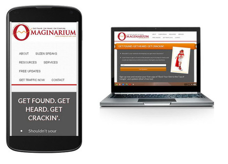 Getting Your Website Mobile Ready and Why It Matters.   Small Business Marketing & SEO   Scoop.it