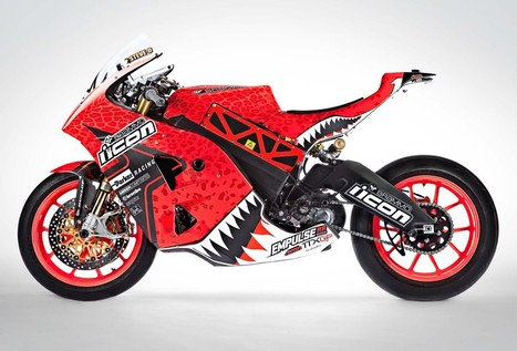 2013 Team Icon Brammo Empulse RR - Zebra vs. Cheetah | Brammo Electric Motorcycles | Scoop.it