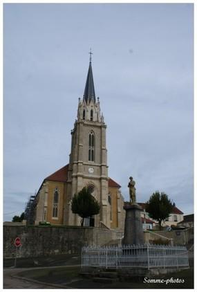 FRANCHE-COMTE: l'église de Confracourt - Le blog de Brigitte | Confracourt | Scoop.it