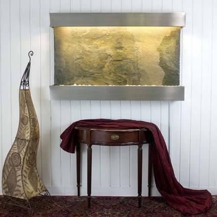 Pictures: Exotic stone wall fountains | House Decorating | Scoop.it