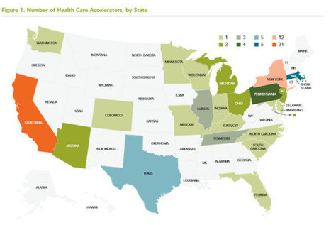 Report maps out 87 healthcare accelerators in the US and how they need to evolve | mHealth- Advances, Knowledge and Patient Engagement | Scoop.it