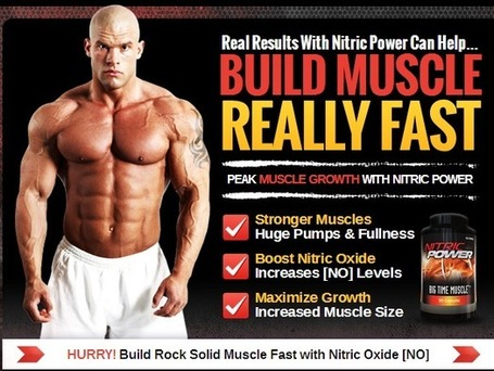 Nitric Power Muscle Building Supplement Reviews - Where to Buy | Get Lean and Ripped Muscles | Scoop.it