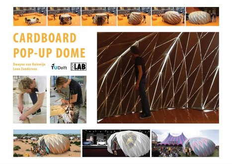 Cardboard Pop-Up Dome | Imagine the possibilities | Artdictive Habits : Sustainable Lifestyle | Scoop.it