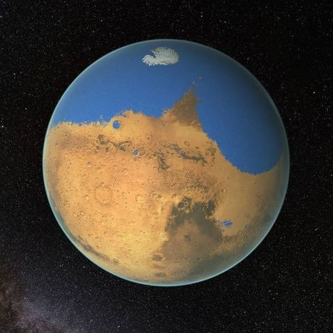 "Image of the Day: Mars' Ancient Sea --""Larger Than Earth's Arctic Ocean"" 