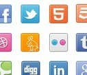 Social Icons - 365psd | GUI icons | Scoop.it