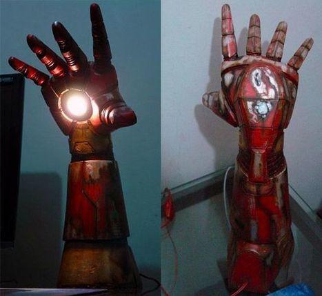 Iron Man Desk Lamp | Geek On | Scoop.it