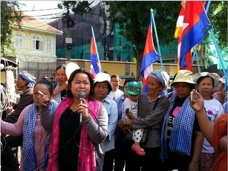 Cambodia's Top Court Denies Bail to 21 Jailed Protesters | South-East Asia Today | Scoop.it