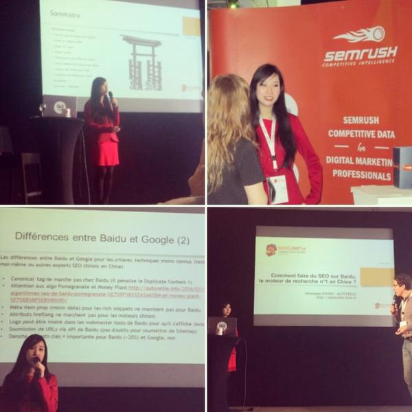 SEO Campus 2016 : Ma conférence, photos, et mes slides sur Slideshare ! | Search engine optimization : SEO | Scoop.it