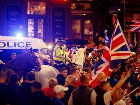 Glasgow 'riots': Footage shows Yes and No voters in running street battles in disorder after pro-Union rally | My Scotland | Scoop.it