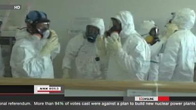 23 travailleurs exposés à de fortes radiations à la centrale de Fukushima   NHK WORLD French   Japon : séisme, tsunami & conséquences   Scoop.it