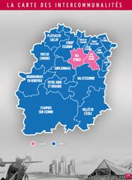 La nouvelle carte des intercommunalités vire au bleu - Essonne Info | Essonne - CAPS | Scoop.it