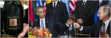 Obama and Putin's toast with a sparkling wine from Le Marche at Ban Ki-moon's peace table | Wines and People | Scoop.it