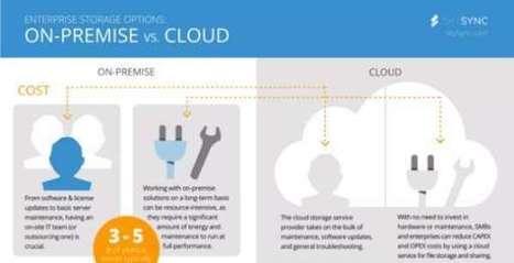 (Infographic) Enterprise storage option: on-premise and Cloud - Techtiplib.com | Technology | Scoop.it