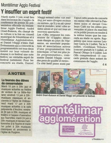 Montélimar Agglo Festival | Montélimar Agglo Festival 2014 | Scoop.it