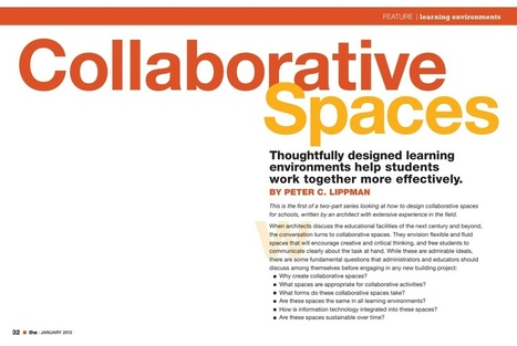 THE Journal January 2013 | Library Spaces: Creating a Learning Commons | Scoop.it