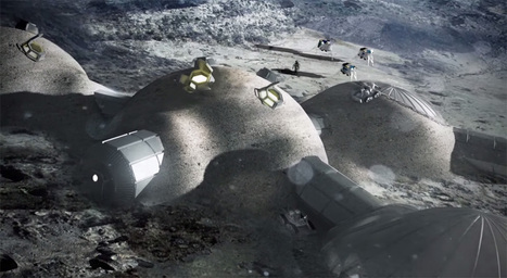 The Big Picture: building a 3D-printed moon base | shubush digital | Scoop.it
