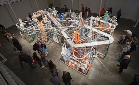 """Metropolis II"" by Chris Burden 
