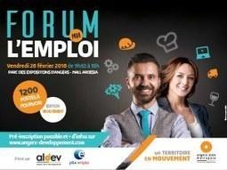 Forum pour l'emploi - 26 février 2016 — Agence de développement de l'agglomération angevine | FORMATION CONTINUE | Scoop.it