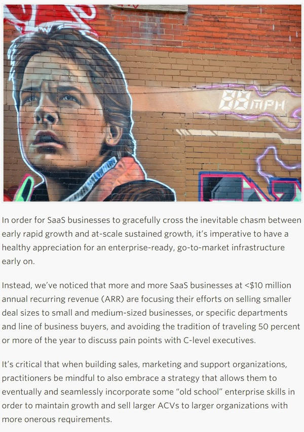 Back To The Future In Enterprise SaaS Selling - TechCrunch | The Marketing Technology Alert | Scoop.it