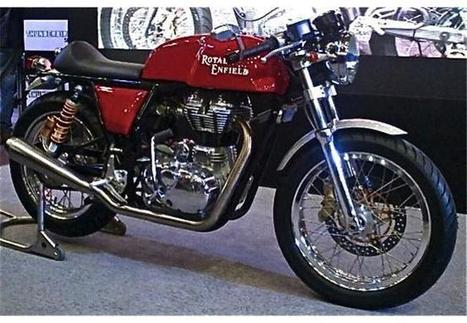 Royal Enfield Continental GT comes from India | MotoGP World | Scoop.it