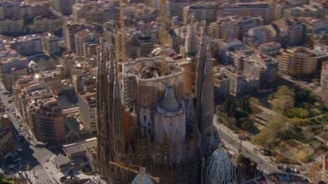 Completing Gaudí's Unfinished Sagrada Familia in One Minute: A Mesmerizing Video | Archivance - Miscellanées | Scoop.it
