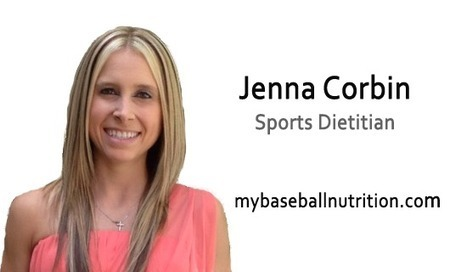 Baseball Nutrition: How to Hit a Homerun! - My Sports Dietitian Connect | My Baseball Nutrition | Scoop.it