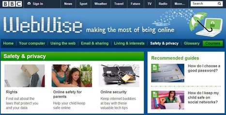 BBC - WebWise - Safety & privacy | iEduc | Scoop.it