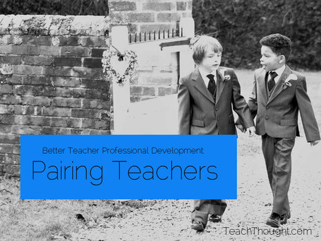 Better teacher professional development: pairing teachers | Organización y Futuro | Scoop.it