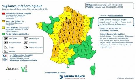 Vigilance orange à la canicule : encore de fortes chaleurs attendues jeudi | BABinfo Pays Basque | Scoop.it