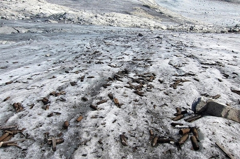 Melting glacier reveals World War I ammunition | Binterest | Scoop.it