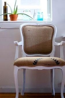 Burlap Sack Chairs   DIY Furniture   Scoop.it