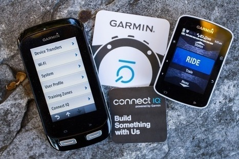 Garmin releases Connect IQ for Edge 520 & Edge 1000 | Sports Activities | Scoop.it