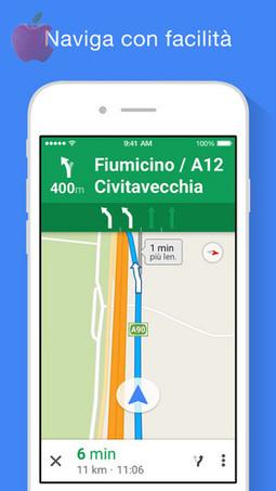 Google Maps si aggiorna su dispositivi iOS alla versione 4.3 - inApple | Scoop Social Network | Scoop.it