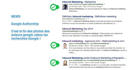 Fini les photos de profil dans les recherches | Marketing Web et Mobile | Scoop.it