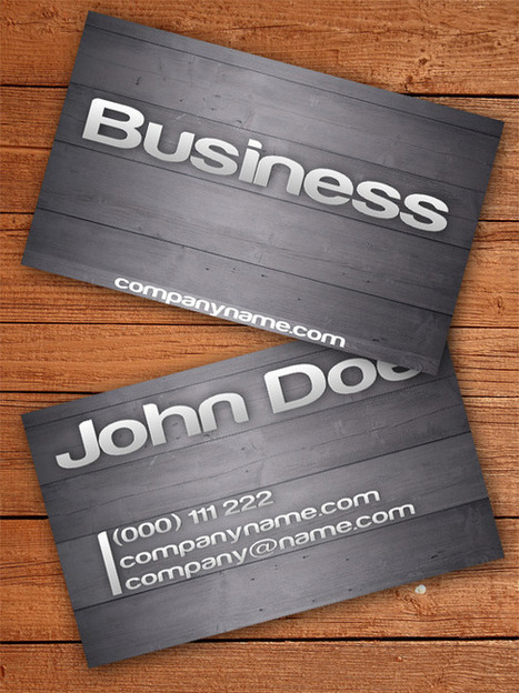 27 Free Business Card Template | The Design Work | eduhackers.org | Scoop.it