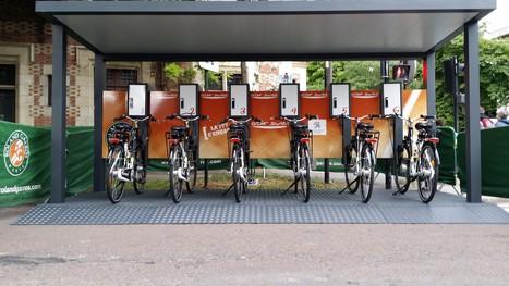 Cyclez installe une station de recharge de VAE à énergie solaire à Roland Garros   E-bike Assist : News and tips on e-Bikes products & maintenance   Scoop.it